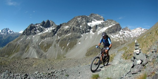 Aufstieg zum Suvretta Pass