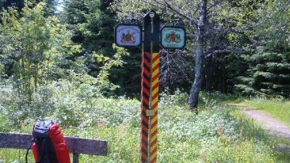 Grenze am Fohrenbühl