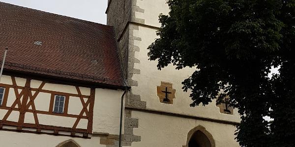 Startpunkt Kirche Blaufelden