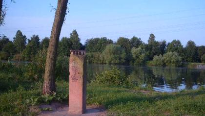 Gedenkstein Römerbrücke