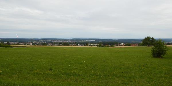 Panoramablick Segelfliegerplatz in Schwann-Conweiler