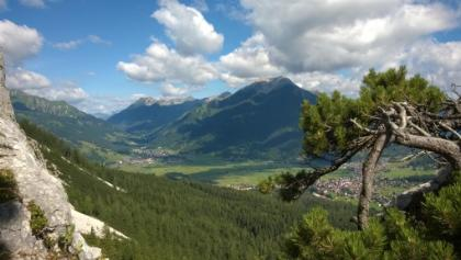 Blick nach Ehrwald