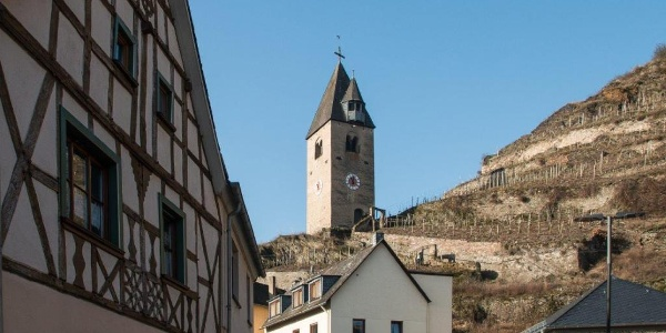 Der Wehr- und Glockenturm in Kobern