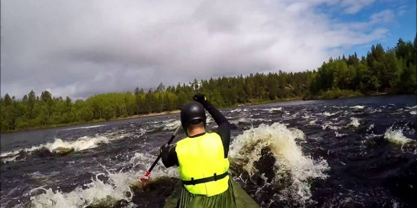 Ivalojoki- The gold river canoe expedition