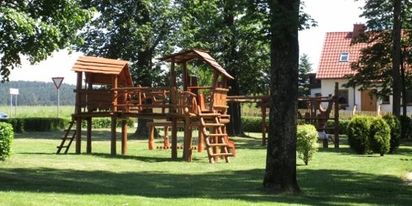 Spielplatz Werda an den Freizeitanlagen