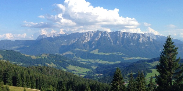 Blick vom Spitzstein