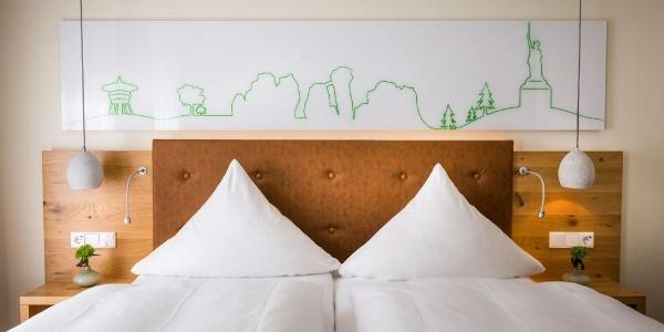 Ganz der Teuto - Zimmer im Hotel Sandebeck