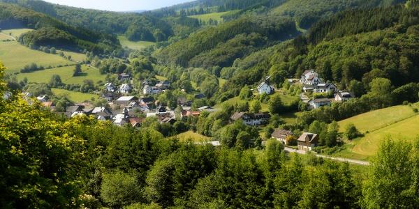 Blick auf Titmaringhausen