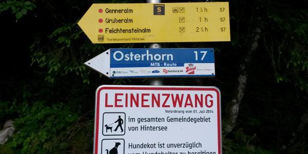 Start in Lämmerbach, Zeiten sind großzügig angegeben