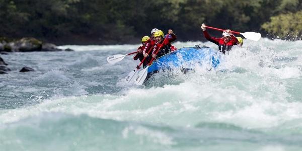 Rafting am Inn