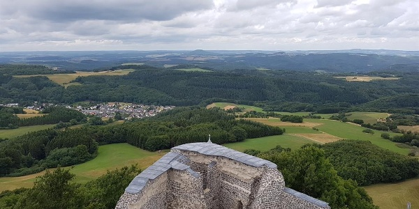 Aussicht Nürburg