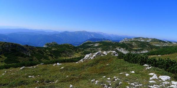 Wunderbares Panorama am Windberg