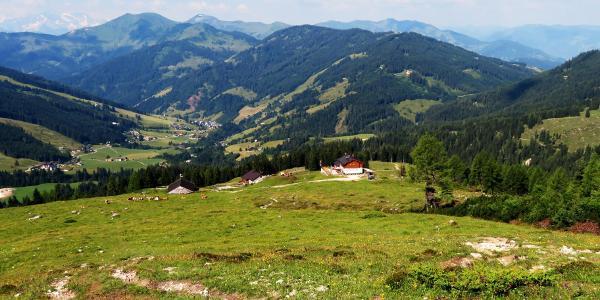 Blick zur Erichhütte