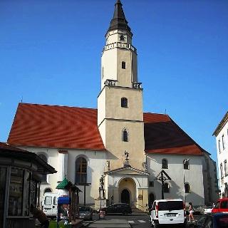 Gryfów Slaski:  Pfarrkirche St.Hedwig
