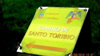hinter Hortigal: Weg zum Kloster Toribio