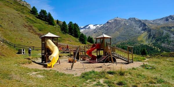 Le Leisee propose également une aire de jeux adaptée aux tout-petits.