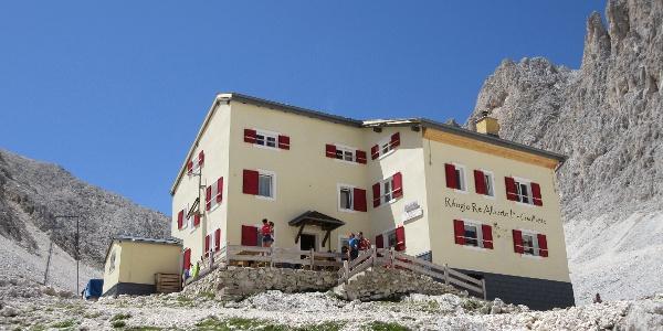 die Gartlhütte (Rifugio re Alberto)