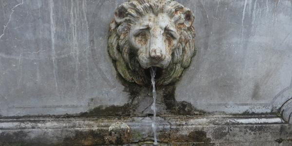 Cauterets water font
