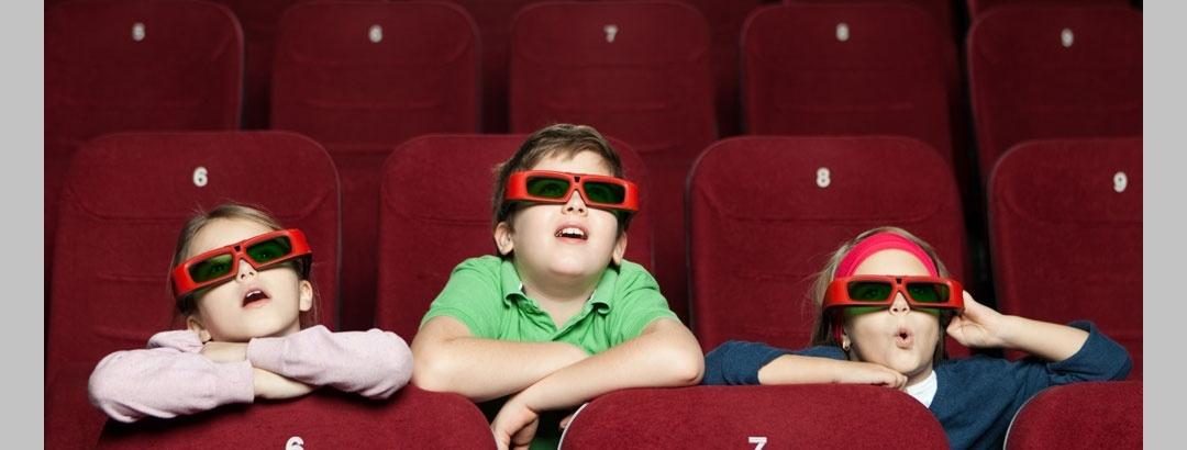 קולנוע ב 7 ממדים מעורר את חושיהם של הילדים והמבוגרים כאחד