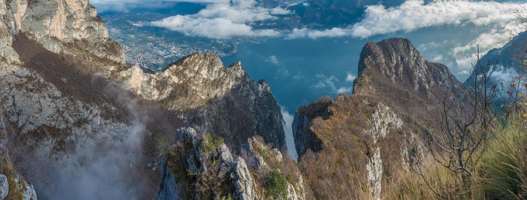 Aussicht aus der Cima Rocca