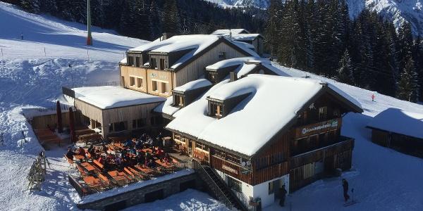 Haus Matschwitz im Winter