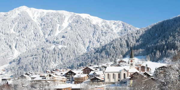 Gaschurn im Winter