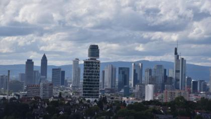 Blick auf die Skyline vom Goetheturm