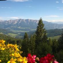 Blick vom Spitzsteinhaus