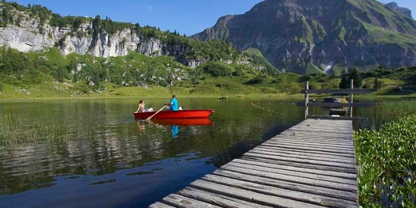 Bootfahren auf dem Körbersee