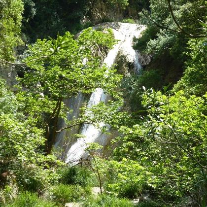 Polylimnio-Wasserfall