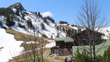 Taubensteinhaus in den Bayerischen Alpen