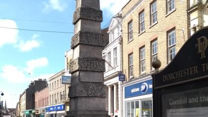 Cornhill Obelisk, Dorchester