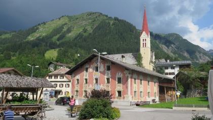 Lüftelmalerei in Holzgau
