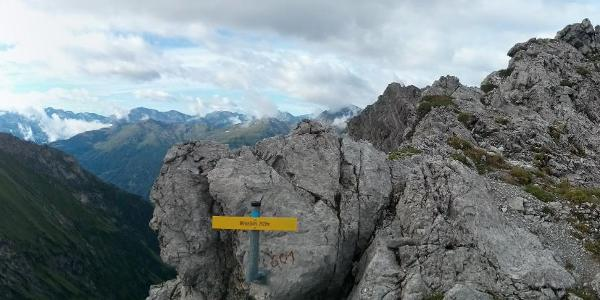 Panorama am Winterjöchl
