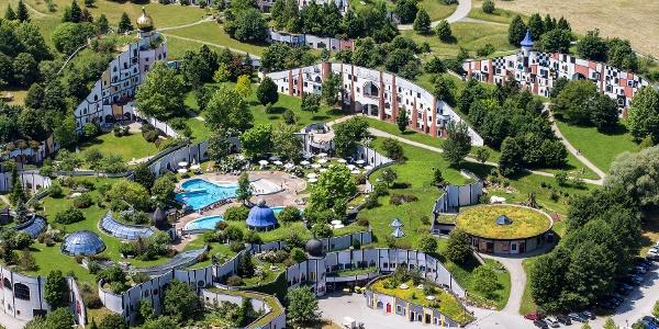 Das Rogner Bad Blumau, die Hundertwasser-Therme