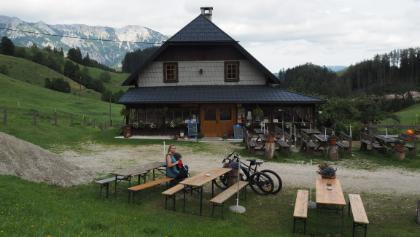 Falkensteinhütte  - Blick Richtung Osten - Schneealpe