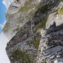 Weg zum Gipfel