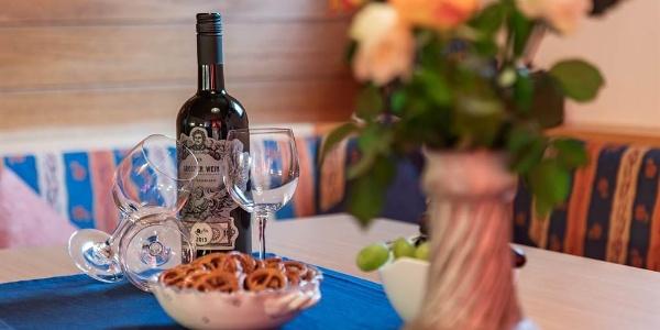 Ein Glas Wein und abschalten
