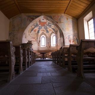 Kirchenmalereien Lavin