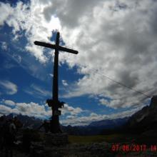 Gipfelkreuz Strudelkopf