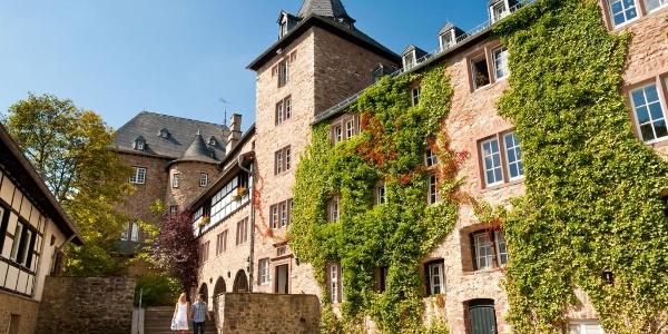 Partnerweg des Eifelsteiges: Burgen-Route (Burg Blankenheim)