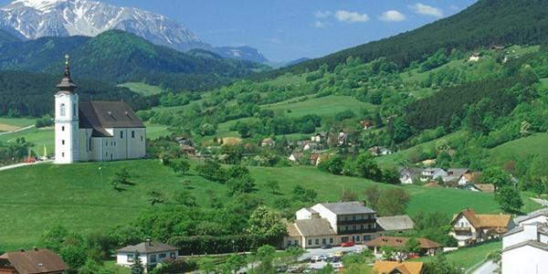 Der Landgasthof Jautschnig an der Wallfahrtskirche Maria Kirchbüchl