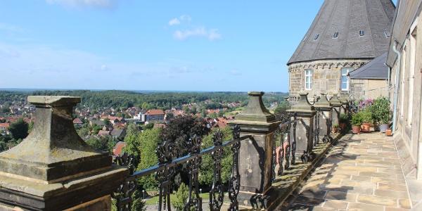 Blick in die Ferne von der Burg Bentheim