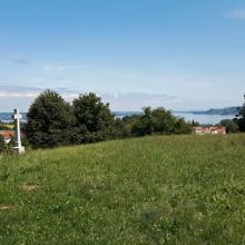 Blick auf den See Richtung Konstanz