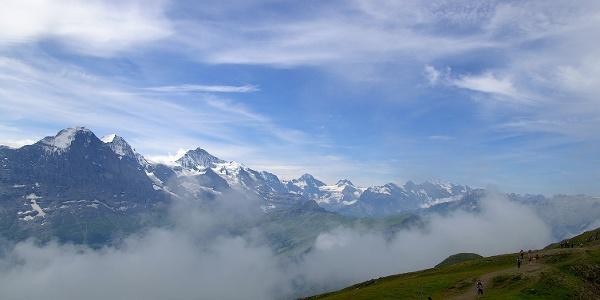 Höhenweg Schynige Platte – Faulhorn.