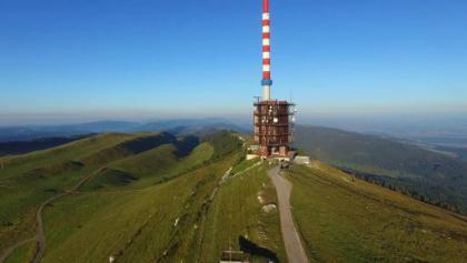 Le Chasseral - Sommet du Jura Suisse/BE - Alt : 1'607m