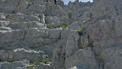 Rock climbing. Not hiking