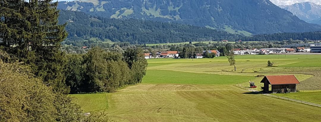 Blick vom Burgcafe Werdenstein