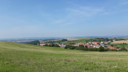 Oberhalb von Becherbach