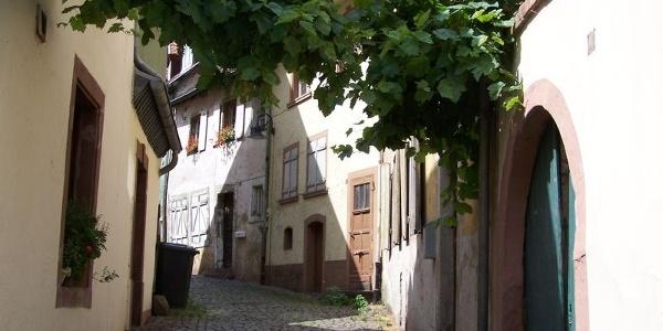 Altstadtgasse in Blieskastel